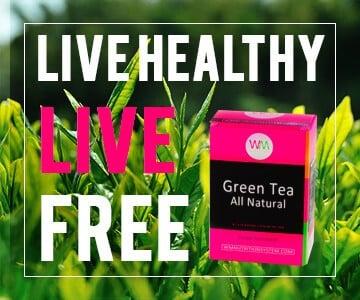 all natural green tea